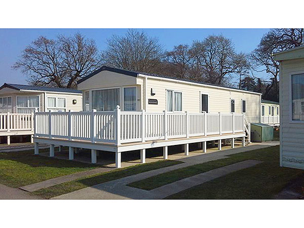 Innovative Private Owned Caravan For Hire At Hoburne Naish