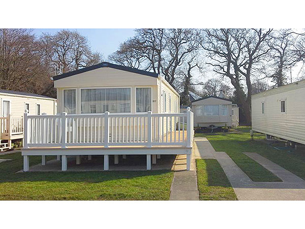 UK Private Static Caravan Holiday Hire at Hoburne Park, Christchurch, Nr Poole, Dorset