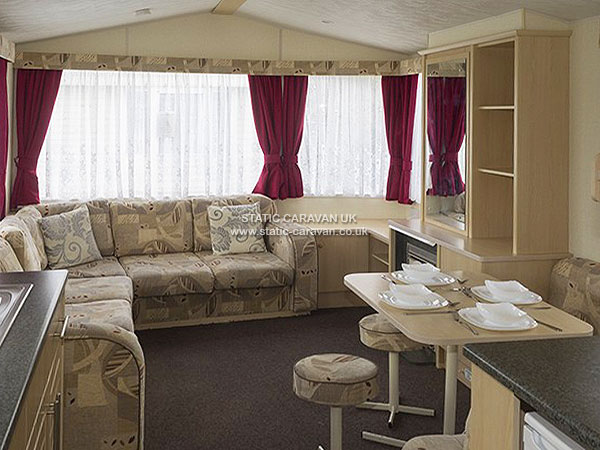 UK Private Static Caravan Holiday Hire at Towervans Holiday Park, Mablethorpe, Lincolnshire