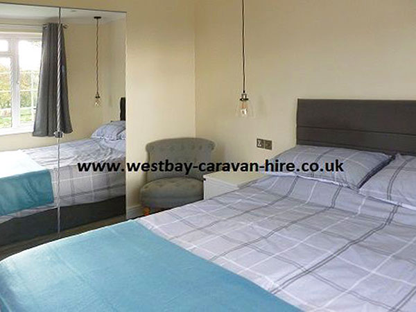 UK Private Static Caravan Holiday Hire at The Wishing Well, Chideock, Nr Bridport, Dorset