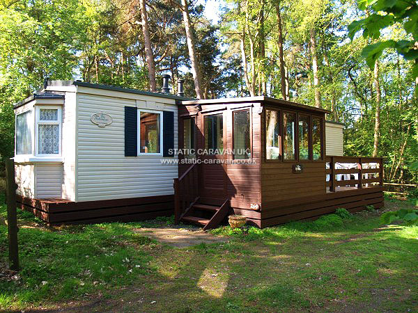 UK Private Static Caravan Holiday Hire at Kelling Heath, Weybourne, Holt, Norfolk