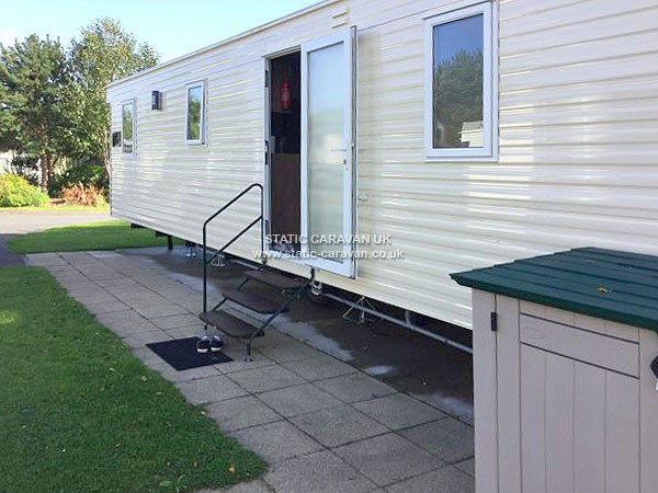 UK Private Static Caravan Holiday Hire at Hafan-Y-Mor, Pwllheli, Gwynedd, North Wales