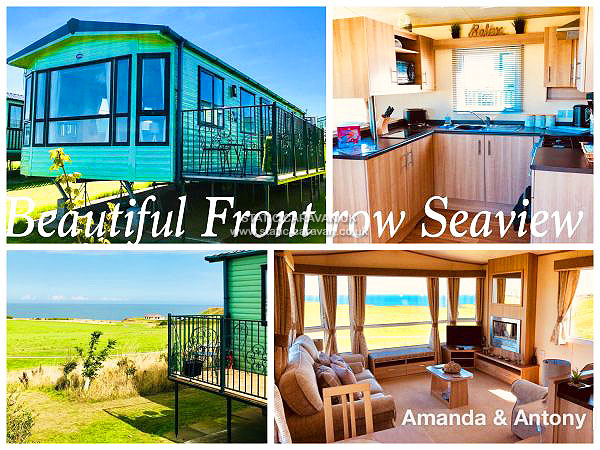 UK Private Static Caravan Holiday Hire at Thornwick Bay, Flamborough, Bridlington, East Yorkshire