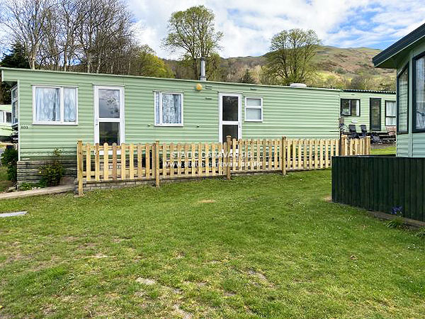 Simple Private Static Caravan Holiday Hire At Sunnysands Talybont Barmouth