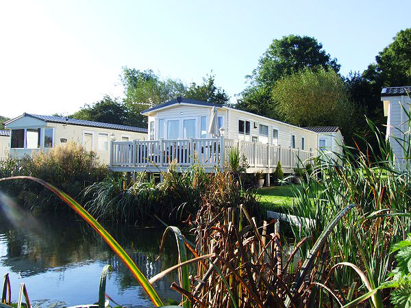 Model  Caravan Holiday Hire At Hoburne Cotswold Cirencester Gloucestershire