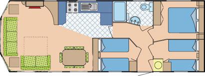 Static Caravan Layout
