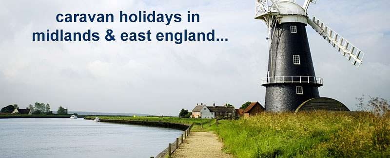 Caravan Holiday Hire Offers in Midlands & East England