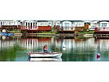 UK Private Static Caravan Hire at 7 Lakes Country Park, Isle Of Axholme, Crowle, Lincolnshire