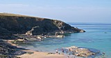 UK Private Static Caravan Hire at Harlyn Sands, Trevose Head, Nr Padstow, Cornwall