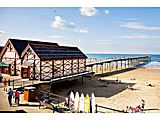 UK Private Static Caravan Hire at Hazelgrove, Saltburn-by-the-Sea, Cleveland, North Yorkshire