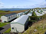 UK Private Static Caravan Hire at Millport, Isle of Cumbrae, Argyll and Bute, Scotland