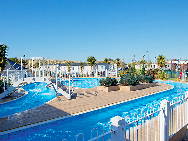 Presthaven sands static caravan holiday park hire Holiday parks in uk with swimming pools