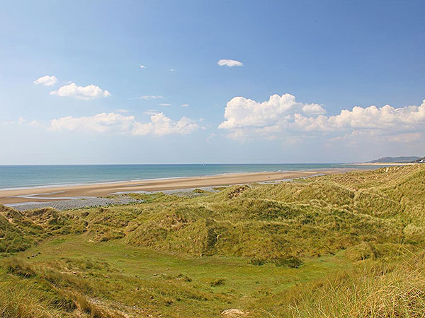 Beautiful Caravan Holiday Home Park Amid Natures Wild Ynyslas Dunes