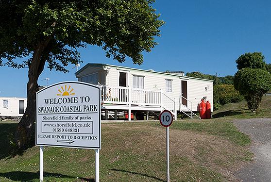 Swanage Static Caravan Holiday Park Hire